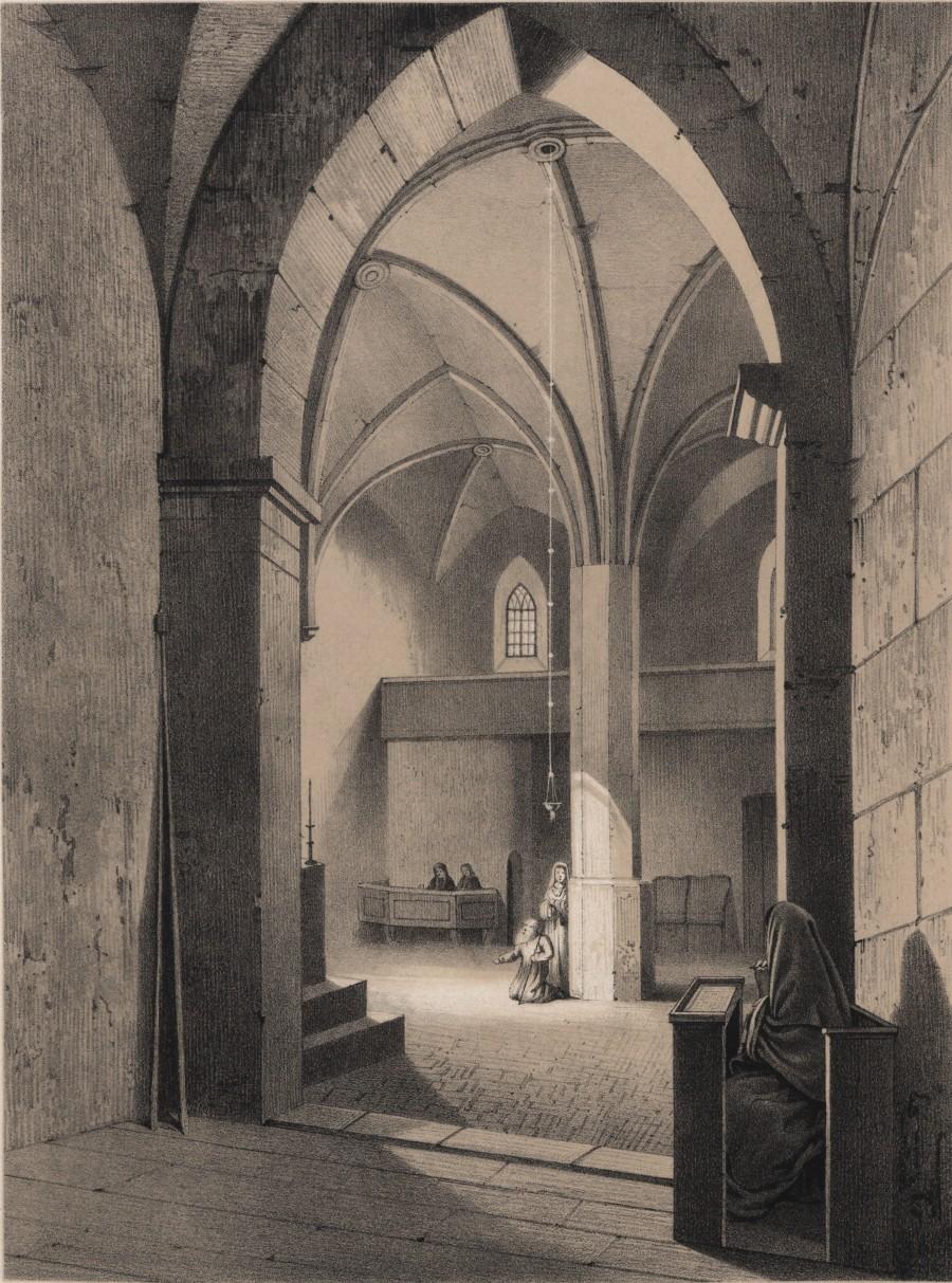 Wnętrze Kaplicy św.Trójcy