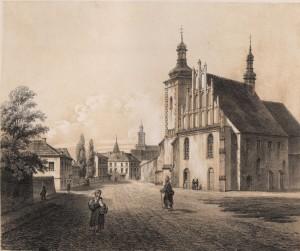 Kościół Panien Brygidek (dzisiaj Wizytek)