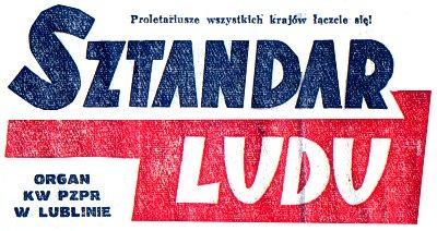 Stan Wojenny wredakcji Sztandaru Ludu