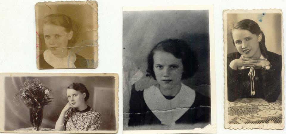 Żona Celina Michoń zd.Granat(ciocia)