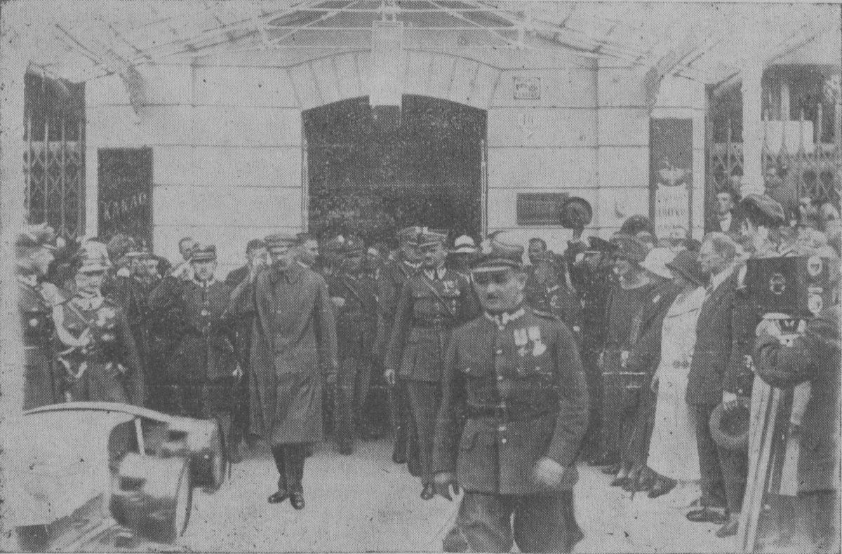 Pobyt Komendanta Piłsudskiego