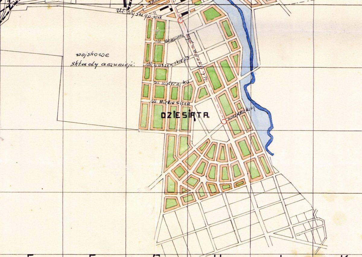 Dziesiąta plan Lublina