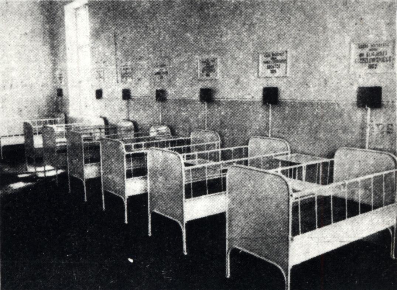 Otwarcie szpitala dla dzieci przy ul.Poczętkowskiej (Staszica 11)