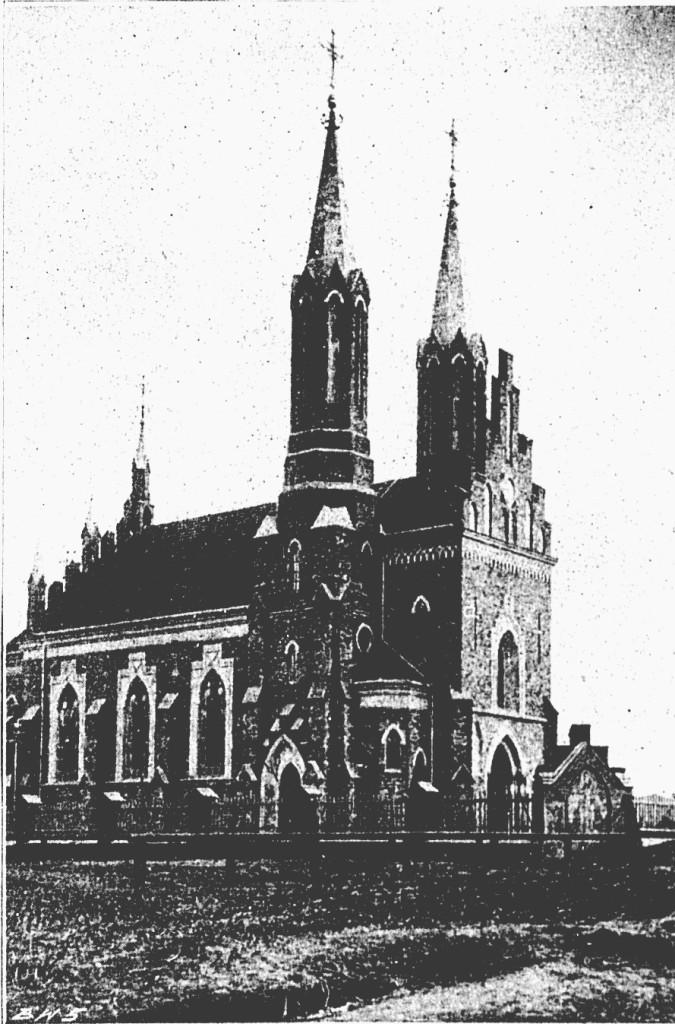Zemborzyce kościół wewnątrz