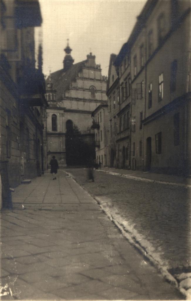 Kościół Dominikanów. ca. 1930. @WBP BC