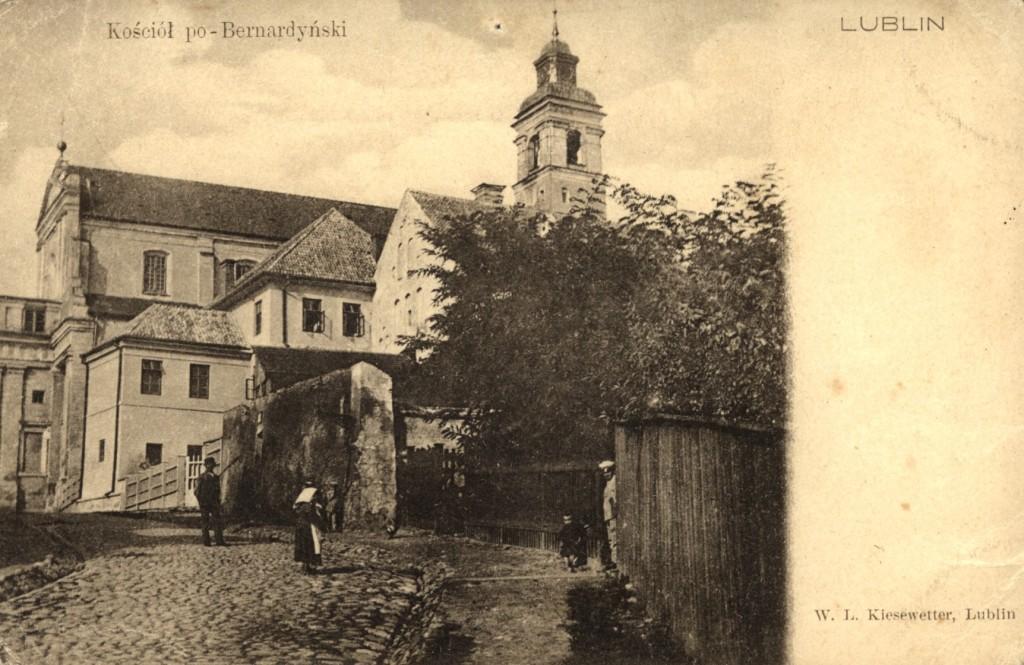 Kościół pw.Nawrócenia św.Pawła, ca. 1910. @WBP BC