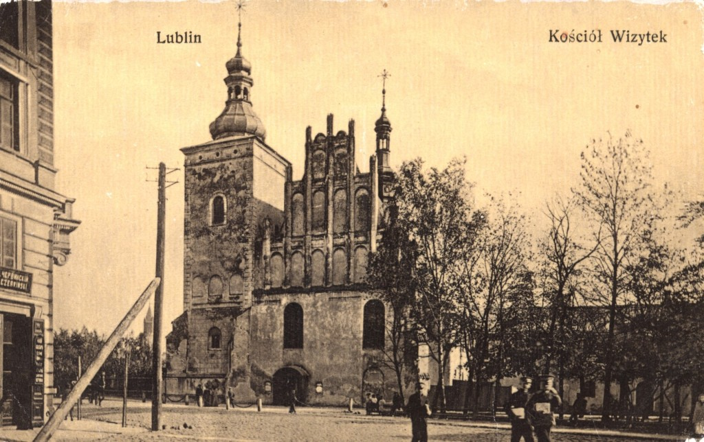 Kościół pw.Matki Boskiej Zwycięskiej. ca. 1908. @WBP BC