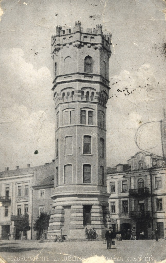 Wieża Ciśnień, ok. 1907 r., @WBP BC