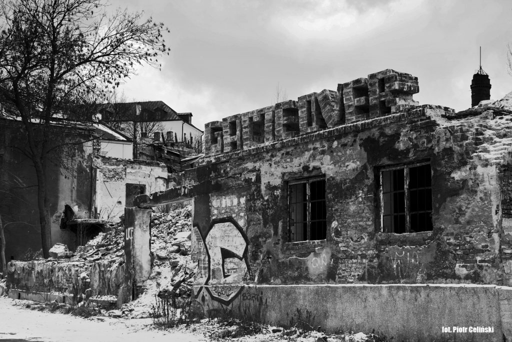 Ruiny Łaźni Łabęckich. fot.Piotr Celiński