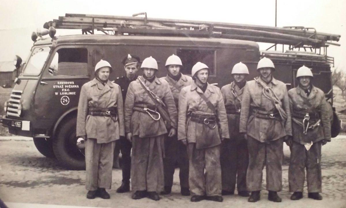 Jednostka Straży Pożarnej przy FSC wLublinie.