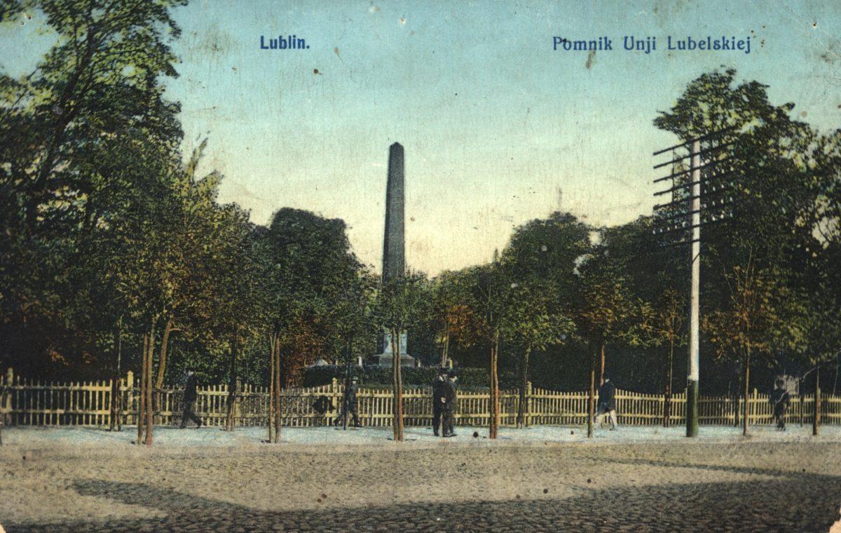 Pomnik Unii Lubelskiej niezawsze świecił blaskiem… – rys historyczny