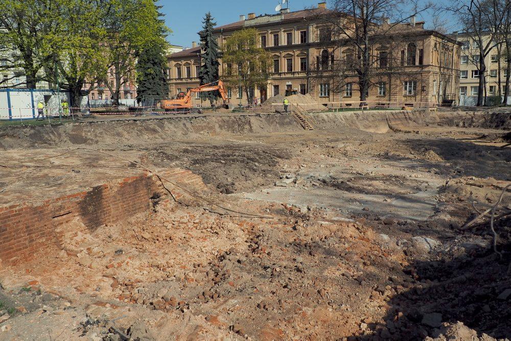 Fragmenty cerkwii, fot.@MiastoLublin via Facebook