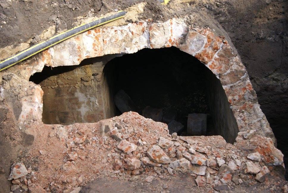 Tunel zamunicją, fot.@MiastoLublin via Facebook