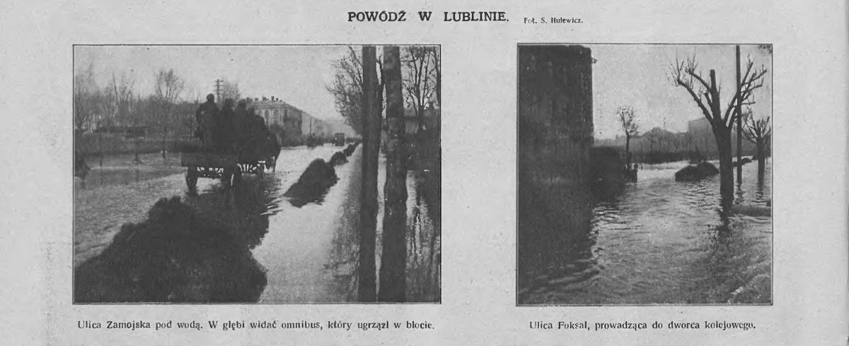 Powódź wLublinie – 1922