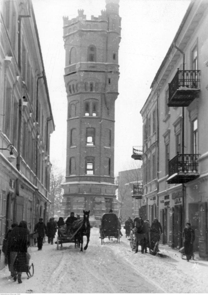 Wieża Ciśnień 1940